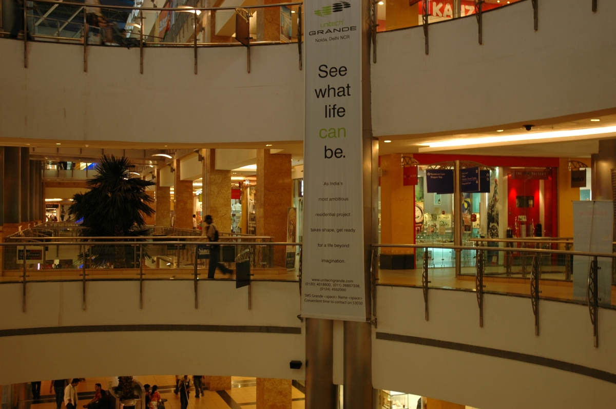 Shopping in India:  Malls