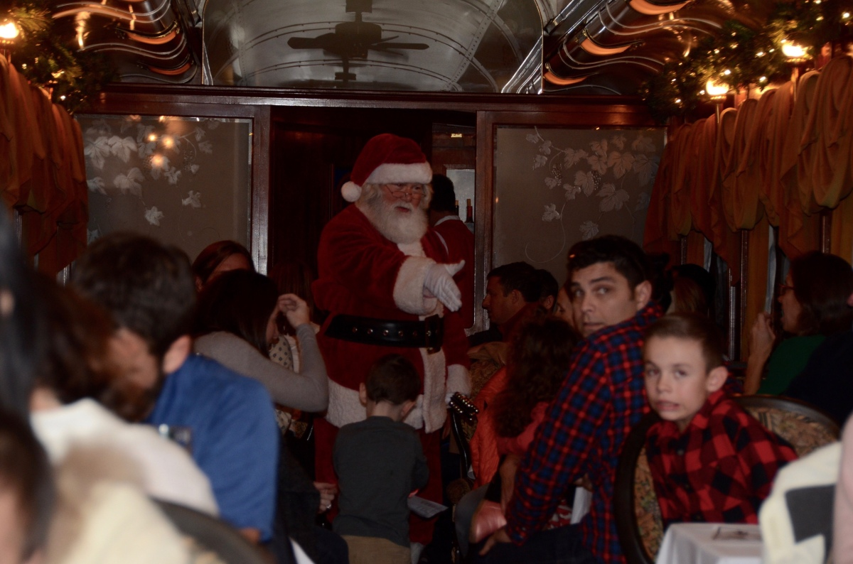 Let's Help Jolly the Bear! – Our Adventure on the Napa Valley Santa Train