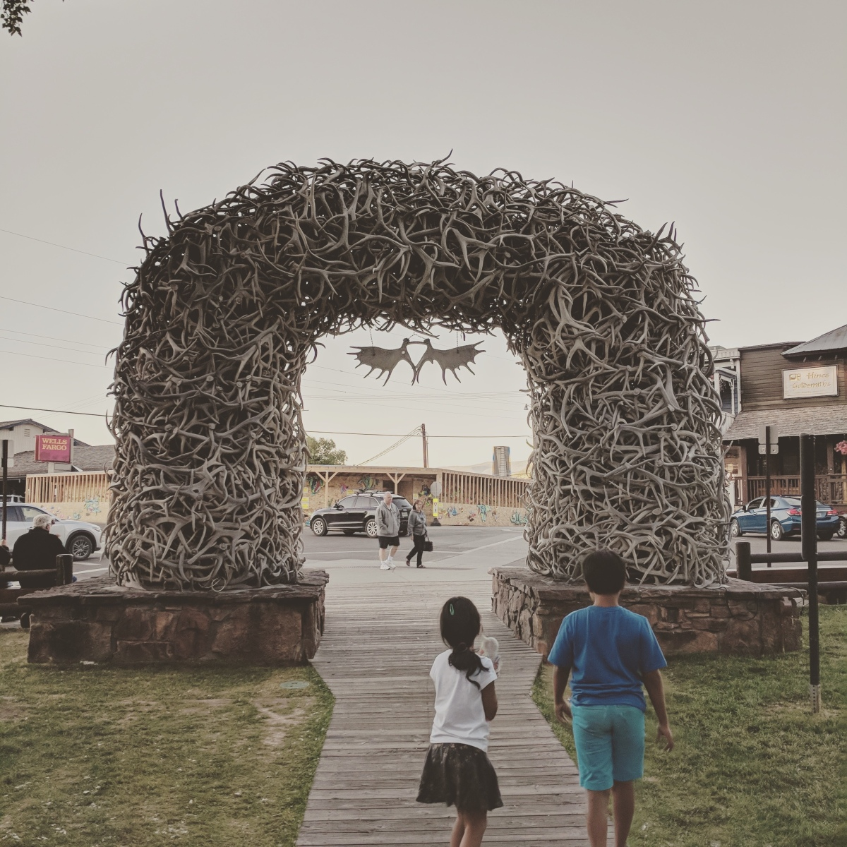Old West Fun in Downtown Jackson Hole